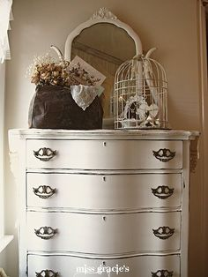 Beautiful painted chest!