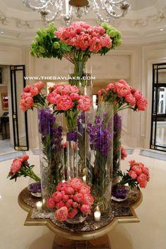 George V Paris Hotel flower presentation = STUNNING!! #MyEscapeCompetition