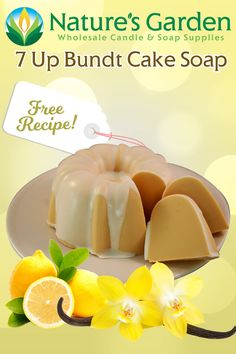 Free 7 Up Bundt Cake Soap Recipe by Natures Garden