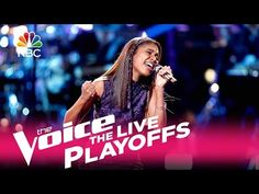 """The Voice 2017 Aliyah Moulden - Live Playoffs: """"Mercy"""" - YouTube"""