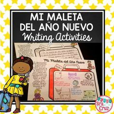 Año Nuevo - Mi Maleta Writing Activity by Sra Cruz | Teachers Pay Teachers