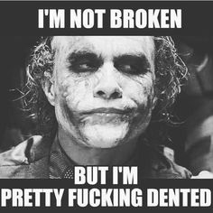 And I thought my jokes were bad! Truth Quotes, Wisdom Quotes, Funny Quotes, Life Quotes, Funny Memes, Best Joker Quotes, Badass Quotes, Best Quotes, Suicide Squad
