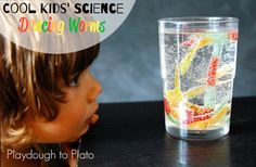 Activity for ages 2 to 5. This simple kids' science activity is perfect for little mad scientists who like seeing creatures come alive before their eyes. Like our fizzing popsicle paint and magic balloons, this kids' science experiment uses baking soda and vinegar to make gummy worms dance. Kids' Science Prep First, I grabbed a bag …