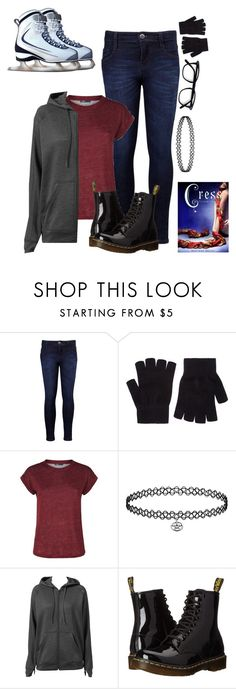 """""""~ ootd ~"""" by hungergamesforever ❤ liked on Polyvore featuring beauty, Levi's, Accessorize, Maje, adidas and Dr. Martens"""