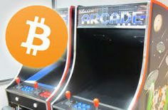 ARCADE MACHINE MODERNIZED FOR BITCOIN.
