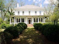 Jordan-Bellew House, circa 1838. One of Monticello's historic treasures sitting on 2+/- acres with Boxwood gardens. Monticello, GA – $229,000