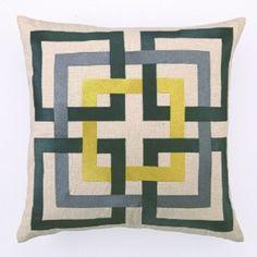 Peking Handicraft 24TT47AC20SQ Pillow