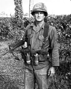 US Army Staff Sargent Russell C. Fordham, D Trp., 1st Sqdn of the 9th Cavalry in Vietnam
