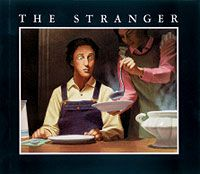 The Stranger by Chris Van Allsburg {Great story to teach inferring! The kids have to pay close attention to the clues to infer that the stranger is Jack Frost.}