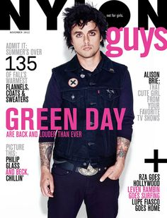 NYLON Guys | Green Day