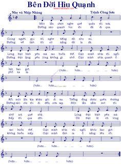 Bên Đời Hiu Quạnh - Music Sheet