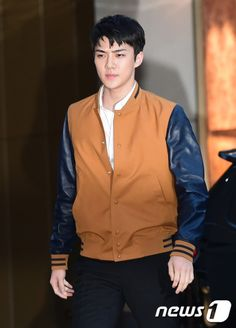 Sehun - 160714 Dior Colors Credit: News1.