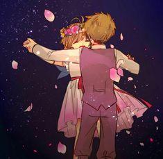 Sakura y Shaoran bailarán toda la noche..... Aww se ven muuy adorables!!