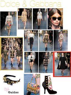 Doce & Gabbana F/W 2012