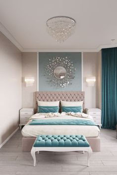 11 Modern and Luxurious Bedrooms With Baroque Style 01 Romantic Farmhouse Master Bedroom Ideas 53 Modern Bedroom Design Ideas That Very Recommended This Year Simple Bedroom Design, Luxury Bedroom Design, Bedroom Designs, Romantic Bedroom Design, Romantic Bedding, Romantic Bedrooms, Luxury Interior Design, Bedroom Styles, Beautiful Bedrooms