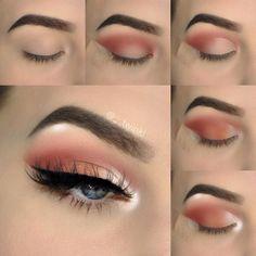 com/__twinkl So I decided to try creating my own Makeup Pictorial !com/__twinkl So I decided to try creating my own Makeup Pictorial ! What do you bab - # Makeup Eye Looks, Eye Makeup Steps, Blue Eye Makeup, Makeup Eyeshadow, Makeup Brushes, Eyeshadow Makeup Tutorial, Makeup Remover, How To Eyeshadow, Simple Eyeshadow Tutorial