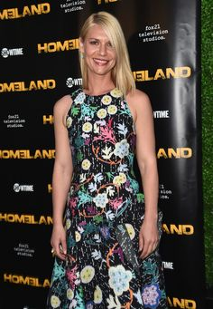 Claire Danes attends an Emmy for Your Consideration Event for Showtime's 'Homeland.'