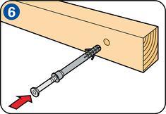 Terrasoverkapping maken - Slag- of nagelplug