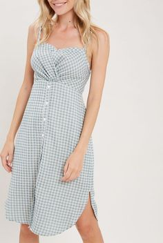 00db3ee4505 Ari Gingham Sundress by Hourglass Boutique - Hourglass Boutique