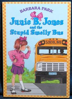 Junie B. Jones is a book series by Barbara Park (4-21-47 to 11-15-13). Thanks to her, it's basically how my love of reading started. She was a funny, talented and great author.