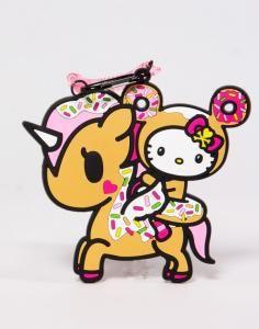tokidoki x Sanrio Characters Luggage Tag Hello Kitty Donutella x Dolce Unicorno