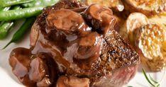 Funky Mushroom Sauce Recipes Pan Seared Steak With Red Wine Mushroom Sauce within Funky Mushroom Sauce Recipes Mushroom Side Dishes, Steak Side Dishes, Mushroom Dish, Mushroom Recipes, Brown Mushroom, Mushroom Gravy, Pan Seared Steak, Marinated Steak, Grilled Steaks