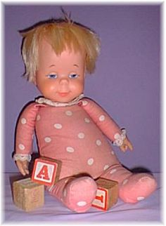 Drowsy Doll... used to love her baby giggle when you pulled the string.