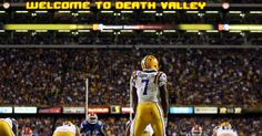 The Perfect Picture Of The Best Player On LSU Football Team RB Leonard Fournette.