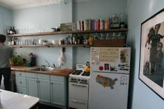 Kitchen Color Gallery: Blue Like Berries