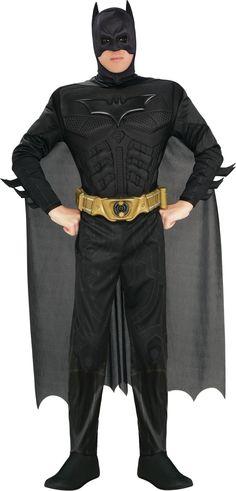 Superhero costumes Batman Image Credit: Spirit Halloween  via @AOL_Lifestyle Read more: http://www.aol.com/article/2014/12/19/an-easy-and-delicious-recipe-for-homemade-eggnog-chai-lattes/21119191/?a_dgi=aolshare_pinterest#fullscreen