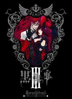 Kuroshitsuji Madame Red/Angelina Durless and Grell Sutcliff