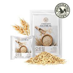 식사대용 간편식사 좋은 품질 통곡물 오트밀 압착귀리 Sugar Packaging, Cereal Packaging, Baking Packaging, Organic Packaging, Simple Packaging, Pouch Packaging, Pretty Packaging, Brand Packaging, Food Branding