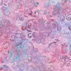 RKC Artisan Batiks Gazebo Spring Damask
