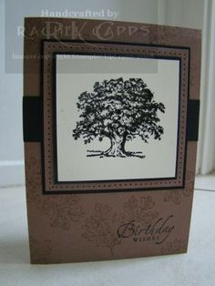Brown and Black - Lovely as a Tree Stampin' Up