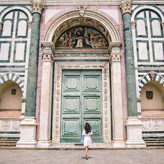 Basílica de Santa Maria Novella  Florencia, Italia.