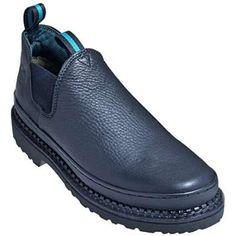 3f20508fc Georgia men s gr270 giant romeo black work shoes in Men Shoes Black Work  Shoes