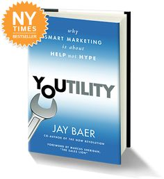 Youtility is about content marketing and being useful to customers. Lots of examples from apps to websites and beyond. #contentmarketing
