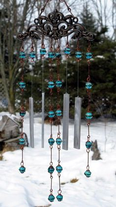 DIY Wind Chime Ideas to Try This Summer (17)