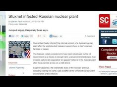 Stuxnet Virus Has Now Infected Russian Nuclear Plant & The ISS!