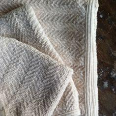 Image of Herringbone Cotton Towels