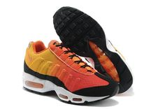 new style d7aad 7558b Enjoy the relaxed life with the high quality and discount Nike Air Womens  Running Shoes 95 Em Releases Fire Orange