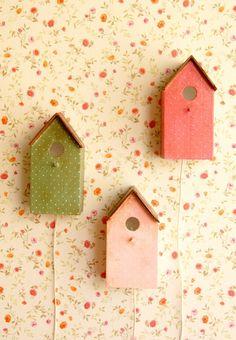 birdhouses by La Factoría Plástica
