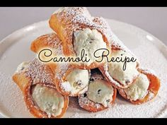 Cannoli Recipe - Gretchen's Bakery