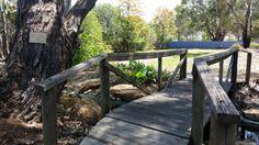 Sunset Villas walk bridge