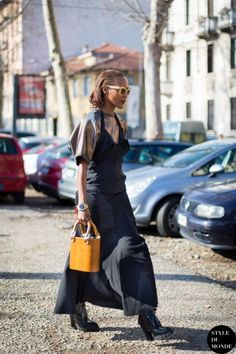 Michelle Elie Street Style Street Fashion by STYLEDUMONDE Street Style Fashion Blog