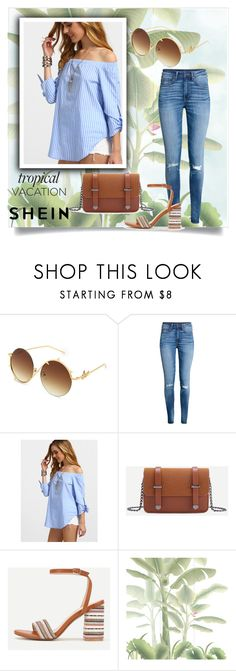 """""""SheIn 3/3 trial"""" by amina-haskic ❤ liked on Polyvore featuring H&M, Misha and shein"""