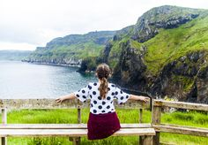 The Beauty of Carrick-A-Rede Rope Bridge, Northern Ireland.