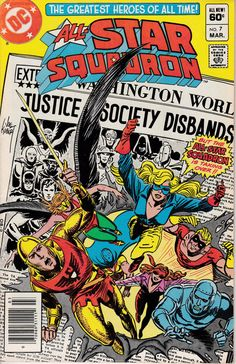 All-Star Squadron 7  March 1982 Issue  DC Comics  by ViewObscura