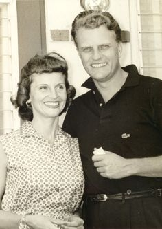 Billy and Ruth Graham. Married 64 years until her death in 2007.