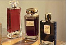 French Kiss, les Elixirs Charnels, Guerlain, 75 ml, 185€. Rose Infernale, Terry de Gunzburg, 100 ml, 155€. Moon Dance, Juliette Has a Gun, 75 ml, 195€.